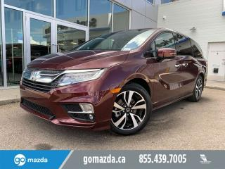 Used 2019 Honda Odyssey TOURING LEATHER NAV SUNROOF PWR SLIDING DOORS for sale in Edmonton, AB