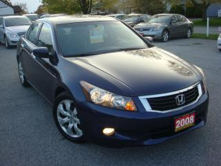 Used 2008 Honda Accord EX-L W/NAVIGATION for sale in Ajax, ON