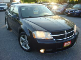 Used 2008 Dodge Avenger SXT W/Navigation/Sunroof/Leather for sale in Ajax, ON