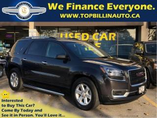 Used 2015 GMC Acadia AWD Factory Warranty till 2020 / 160K for sale in Vaughan, ON