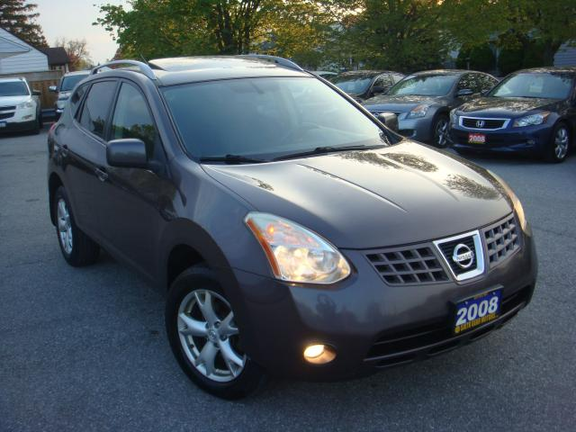 2008 Nissan Rogue SL Sunroof/Leather/Cruise Control