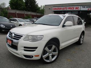 Used 2010 Volkswagen Touareg HIGHLINE-TDI -AWD-LEATHER-ROOF-HEATED-BLUETOOTH-DI for sale in Scarborough, ON