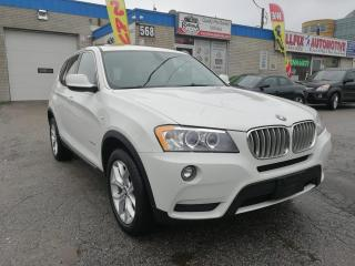 Used 2012 BMW X3 Accident Free_AWD_Navi_Backup Cam_Sunroof_Leather for sale in Oakville, ON