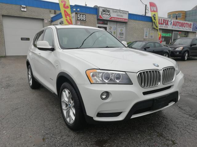 2012 BMW X3 Accident Free_AWD_Navi_Backup Cam_Sunroof_Leather