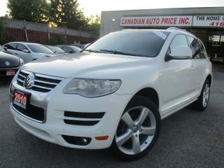 Used 2010 Volkswagen Touareg TDI Highline-AWD-NAVI-LTHER-CAMERA-ROOF-BLUETOOTH- for sale in Scarborough, ON