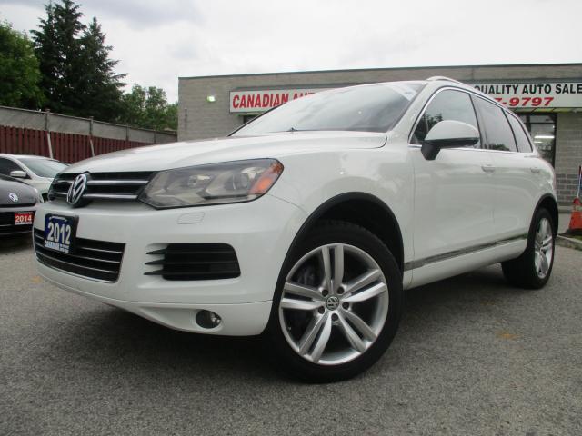 2012 Volkswagen Touareg TDI Execline-AWD-NAVI-LTHER-CAMERA-PANO ROOF
