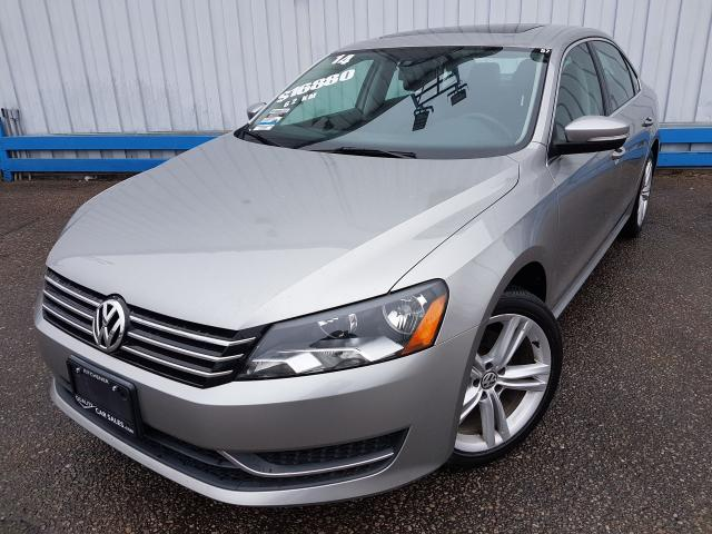 2014 Volkswagen Passat Comfortline TSI *LEATHER-SUNROOF*