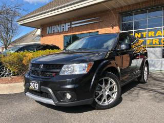 Used 2013 Dodge Journey AWD R/T Rallye Sunroof  Heated Seats Low Km Certi* for sale in Concord, ON