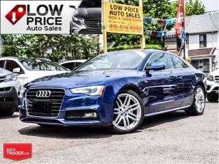 Used 2015 Audi A5 Progressiv*SLine*AWD*Navi*Camera* for sale in Toronto, ON