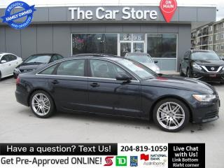 Used 2012 Audi A6 Premium SUNROOF HTD SEATS & WHEEL leather PUSH ST for sale in Winnipeg, MB