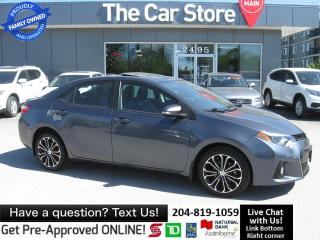 Used 2014 Toyota Corolla S heated seat BLUETOOTH back cam SUNROOF for sale in Winnipeg, MB