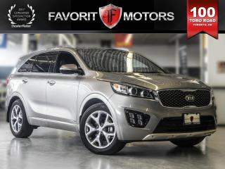Used 2016 Kia Sorento LEATHER | SUNROOF | NAVIGATION for sale in North York, ON