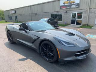 Used 2016 Chevrolet Corvette Stingray Z51 3LT NAV HUD NPP Convertible for sale in St. George Brant, ON