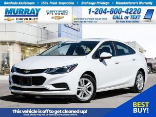 Used 2018 Chevrolet Cruze LT Auto *Bluetooth, Wi-Fi Hotspot, Remote Start* for sale in Winnipeg, MB