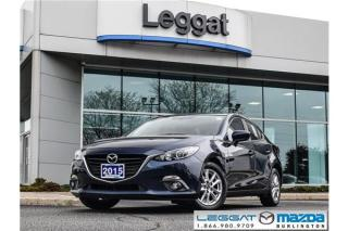 Used 2015 Mazda MAZDA3 GS- HEATED SEATS, BLUETOOTH, REAR CAMERA, FOGLIGHTS for sale in Burlington, ON