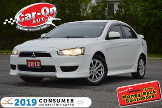 Used 2012 Mitsubishi Lancer SE 5 SPEED A/C HTD SEATS ALLOYS BLUETOOTH for sale in Ottawa, ON