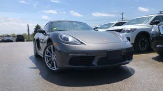 Used 2017 Porsche 718 Cayman 2.0 T Leather Navigation Manual for sale in Midland, ON