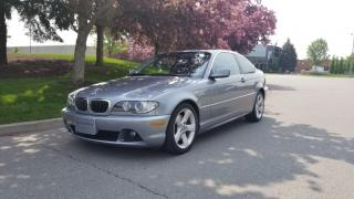 Used 2004 BMW 3 Series 2dr Cpe 330Ci | 6 Speed | Accident-Free | 2 Owners for sale in Vaughan, ON