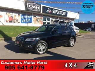Used 2013 Audi Q5 3.0T quattro Premium  AWD PREMIUM  P/SEATS MEM P/GATE for sale in St. Catharines, ON