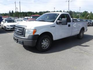 Used 2010 Ford F-150 Regular Cab XL 8-ft. Bed 2WD for sale in Burnaby, BC