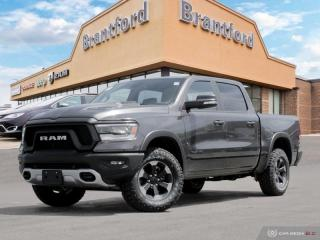 New 2019 RAM 1500 Rebel  - Leather Seats - Navigation - $371.24 B/W for sale in Brantford, ON
