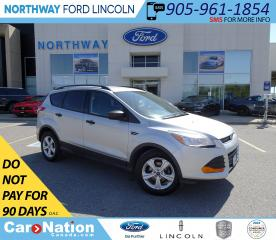 Used 2014 Ford Escape S | KEYLESS ENTRY | BLUETOOTH | BACK UP CAM | for sale in Brantford, ON