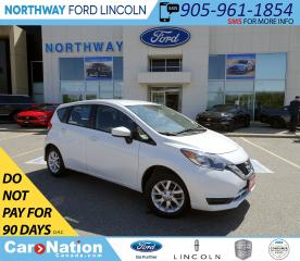 Used 2018 Nissan Versa Note SV | HTD SEATS | BACK UP CAM | USB/AUX | for sale in Brantford, ON