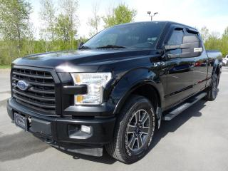 Used 2017 Ford F-150 SPORT CREW V8 5L,  BTE 6.5P, 4X4, 1 PROP for sale in Vallée-Jonction, QC