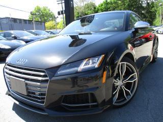 Used 2016 Audi TTS TTS 2.0T|ONE OWNER|RED INTERIOR|NAVI|TTS for sale in Burlington, ON