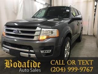 Used 2016 Ford Expedition Platinum for sale in Headingley, MB