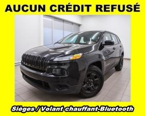 Used 2016 Jeep Cherokee Sport 4x4 Bluetooth for sale in St-Jérôme, QC