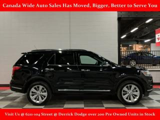 Used 2019 Ford Explorer AWD, Limited, Leather, Panoramic Sunroof,3rd Row Seating, Back Up Camera, Heated Seats for sale in Edmonton, AB
