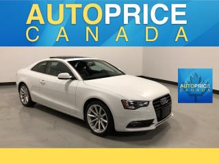 Used 2014 Audi A5 2.0 Progressiv S-LINE|PANOROOF|NAVIGATION for sale in Mississauga, ON