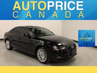 Used 2015 Audi A4 2.0T Komfort plus S-LINE|MOONROOF|LEATHER for sale in Mississauga, ON