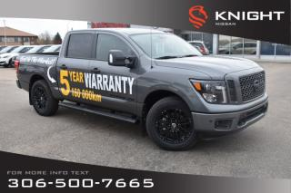 Used 2019 Nissan Titan Midnight Edition | Heated Seats | Navigation | Bluetooth | Back Up Camera | for sale in Swift Current, SK