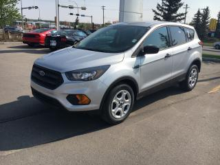 New 2019 Ford Escape S 2.5L, heat seats, backup cam for sale in Okotoks, AB