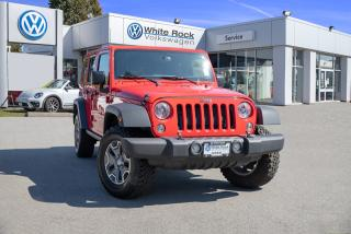 Used 2018 Jeep Wrangler JK Unlimited Rubicon *NAVIGATION* *RUBICON for sale in Surrey, BC