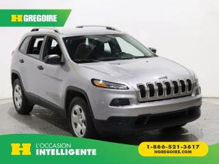 Used 2016 Jeep Cherokee SPORT 4X4 A/C CAM for sale in St-Léonard, QC