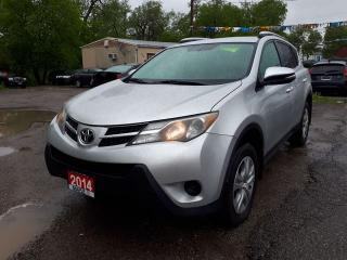 Used 2014 Toyota RAV4 LE,Certified,B.U. cam for sale in Oshawa, ON