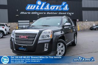 Used 2015 GMC Terrain SLT1 AWD – Leather, Sunroof, Navigation, Rear Camera, Power Lift Gate, Heated Seats & More for sale in Guelph, ON