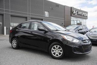 Used 2012 Hyundai Accent GL for sale in St-Hyacinthe, QC
