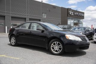 Used 2006 Pontiac G6 Berline 4 portes for sale in St-Hyacinthe, QC