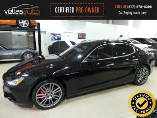 Used 2017 Maserati Ghibli S Q4  NAVIGATION  R/CAMERA for sale in Vaughan, ON