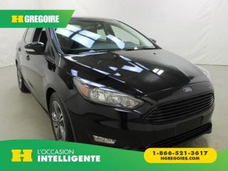 Used 2017 Ford Focus SE for sale in St-Léonard, QC