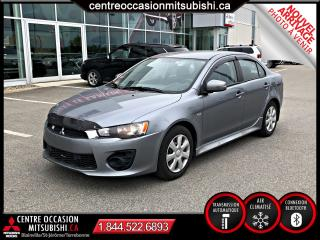 Used 2016 Mitsubishi Lancer ES A/C BLUETOOTH for sale in St-Jérôme, QC