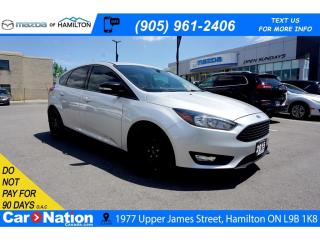 Used 2015 Ford Focus SE | SUNROOF | NAV | LEATHER | REAR CAM for sale in Hamilton, ON