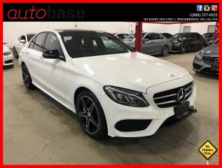 Used 2016 Mercedes-Benz C-Class C300 4MATIC PREMIUM PLUS NIGHT BURMESTER RED INT! for sale in Vaughan, ON