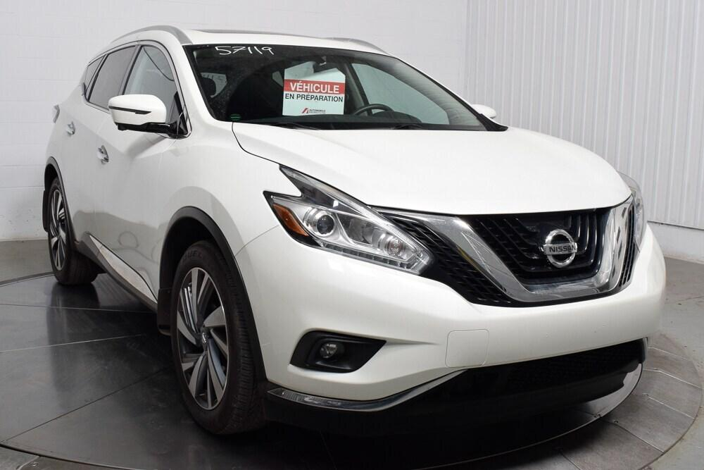 Nissan Ile Perrot >> Used 2016 Nissan Murano Awd For Sale In L Ile Perrot Quebec
