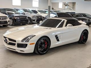 Used 2012 Mercedes-Benz SLS AMG SLS AMG/BANG7OULFSEN/AMG CARBON RIBER TRIM/CONVERTIBLE! for sale in Toronto, ON