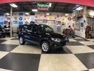 Used 2015 Volkswagen Tiguan 2.0TSI COMFORTLINE AUT0 AWD NAVI LEATHER PANO/ROOF 75K for sale in North York, ON
